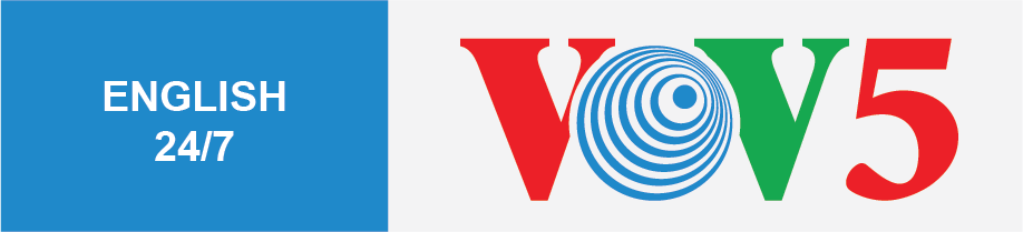Logo VOV5 English 247