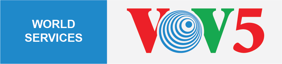 Logo VOV5 World service