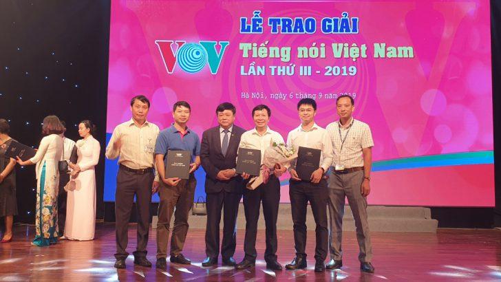 Trung tâm Kỹ thuật Phát thanh Truyền hình vinh dự đạt giải A lễ trao Giải thưởng Tiếng nói Việt Nam năm 2019