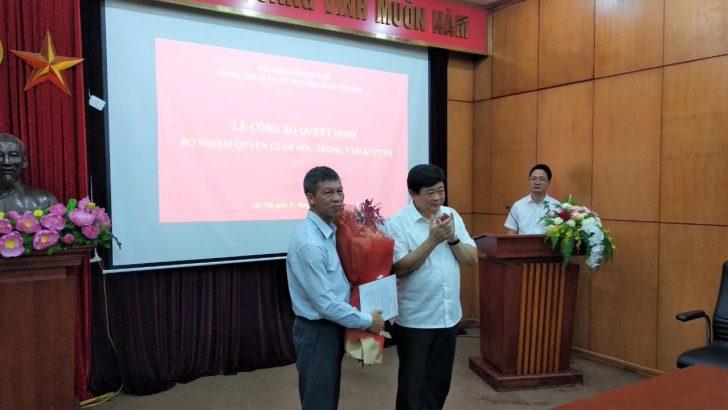 Đài Tiếng nói Việt Nam trao quyết định bổ nhiệm quyền Giám đốc trung tâm Kỹ thuật Phát thanh – Truyền hình